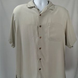 Tommy Bahama Men's Silk Short Sleeve Shirt